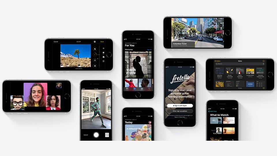 cấu hình iPhone SE 2020