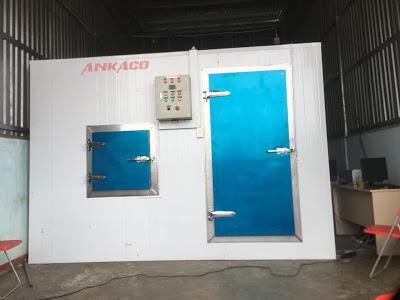 ANKACO Lắp đặt, hoàn thiện kho đông lạnh bảo quản thực phẩm