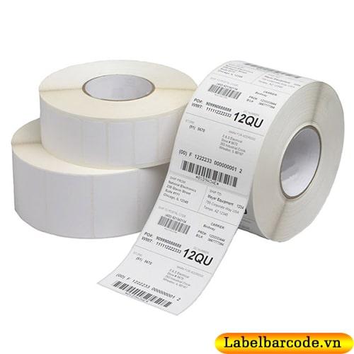 Decal PVC in tem nhãn mã vạch