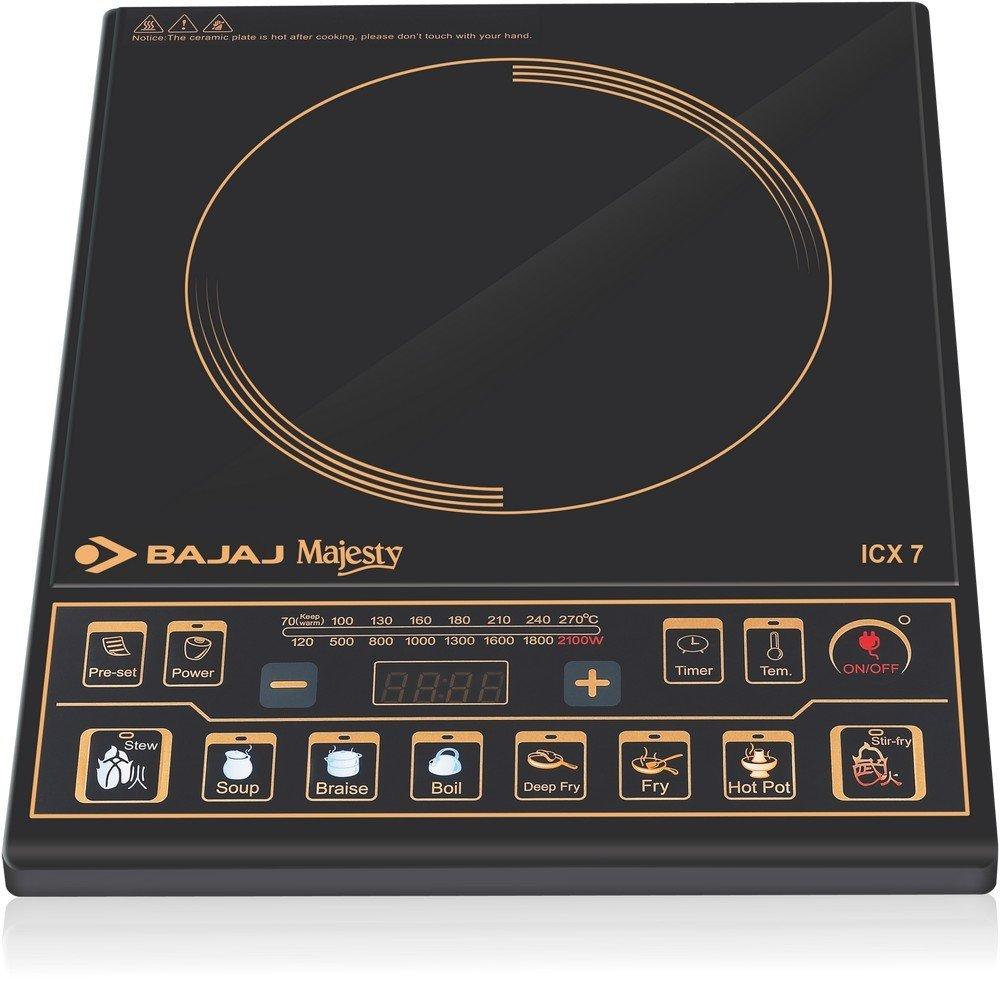 Bajaj Majesty ICX 7 1900-Watt Best Induction Cooktop