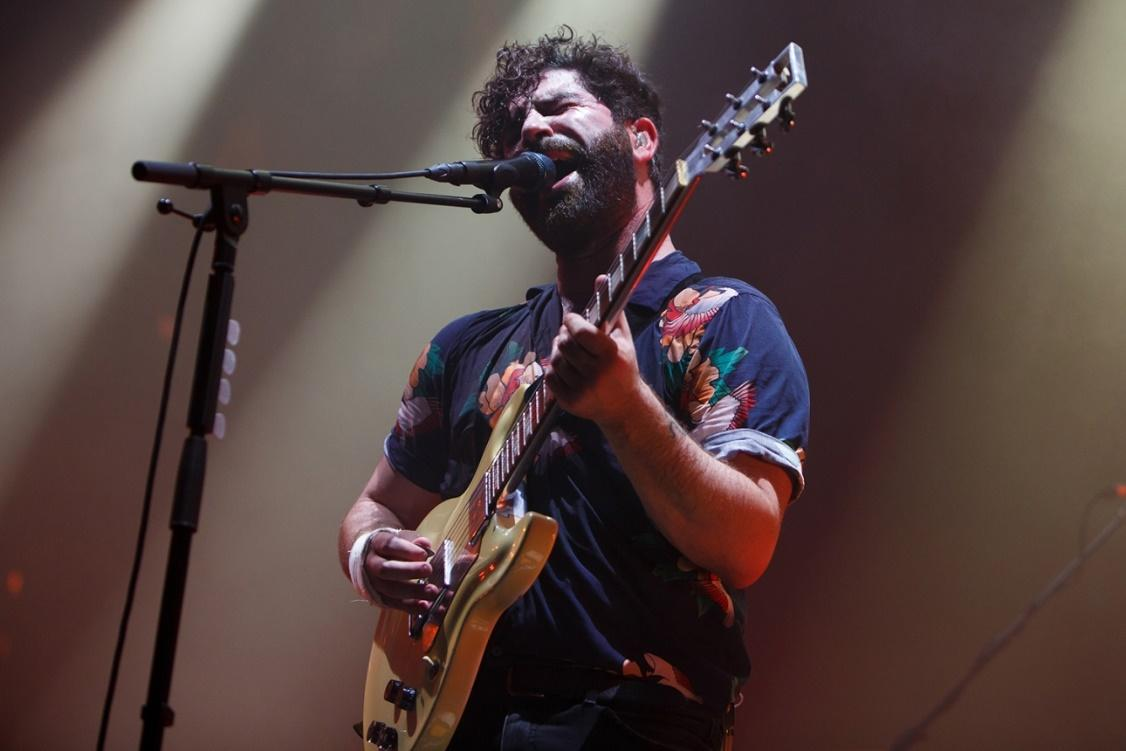 """Foals' Yannis Philippakis says their next album is """"a rock record"""""""