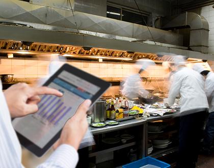 the recent success of restaurant business