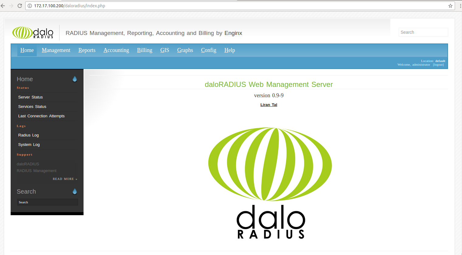 FreeRadius-Configuration-with-DaloRadius-CentOS 7 - linuxtopic
