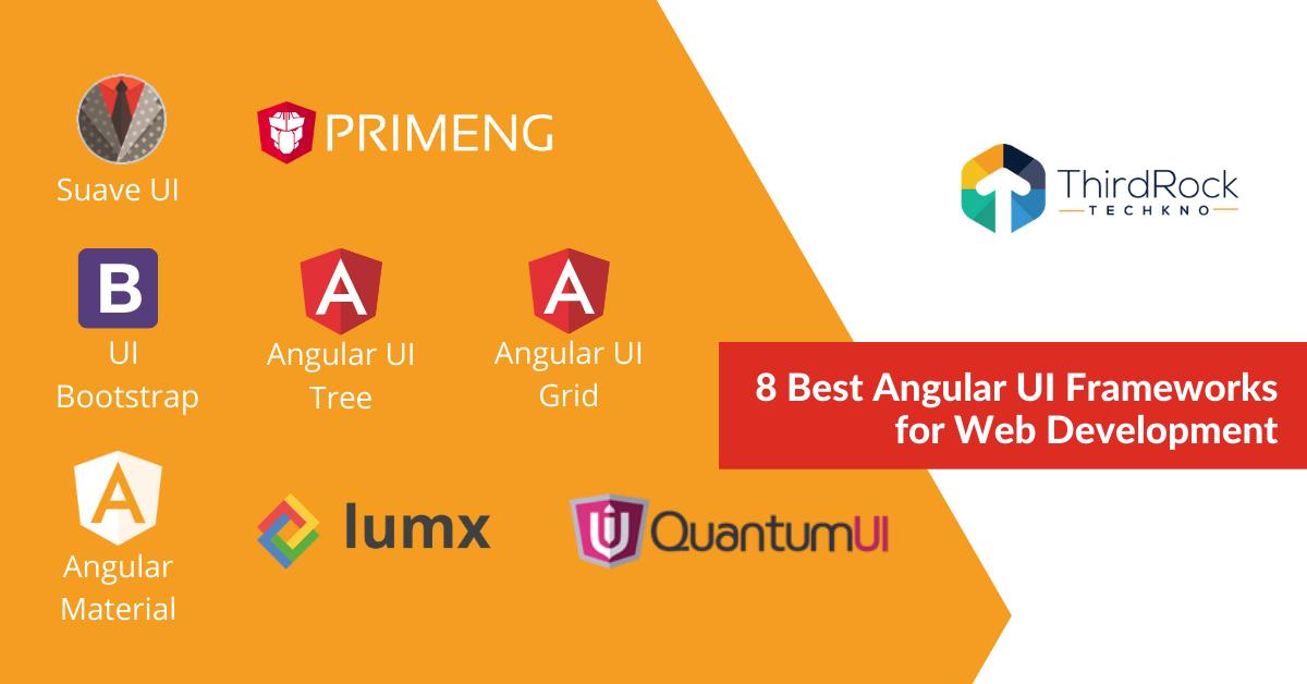 Best Angular UI Frameworks