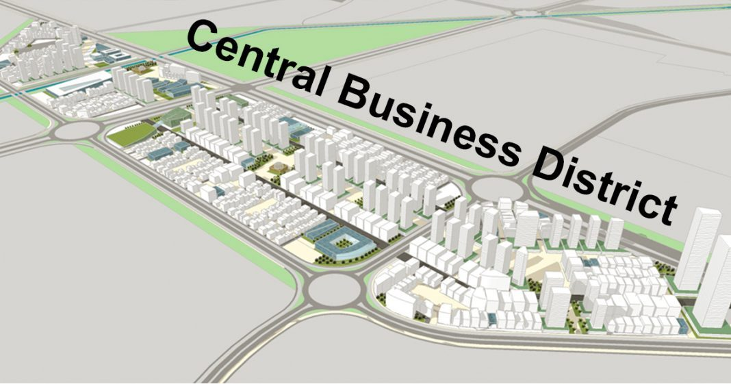 Proposed road map of CBD