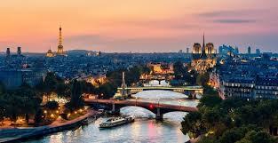 Вид на Париж и Сену