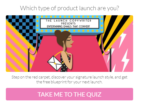Which type of product launch are you? quiz covercha