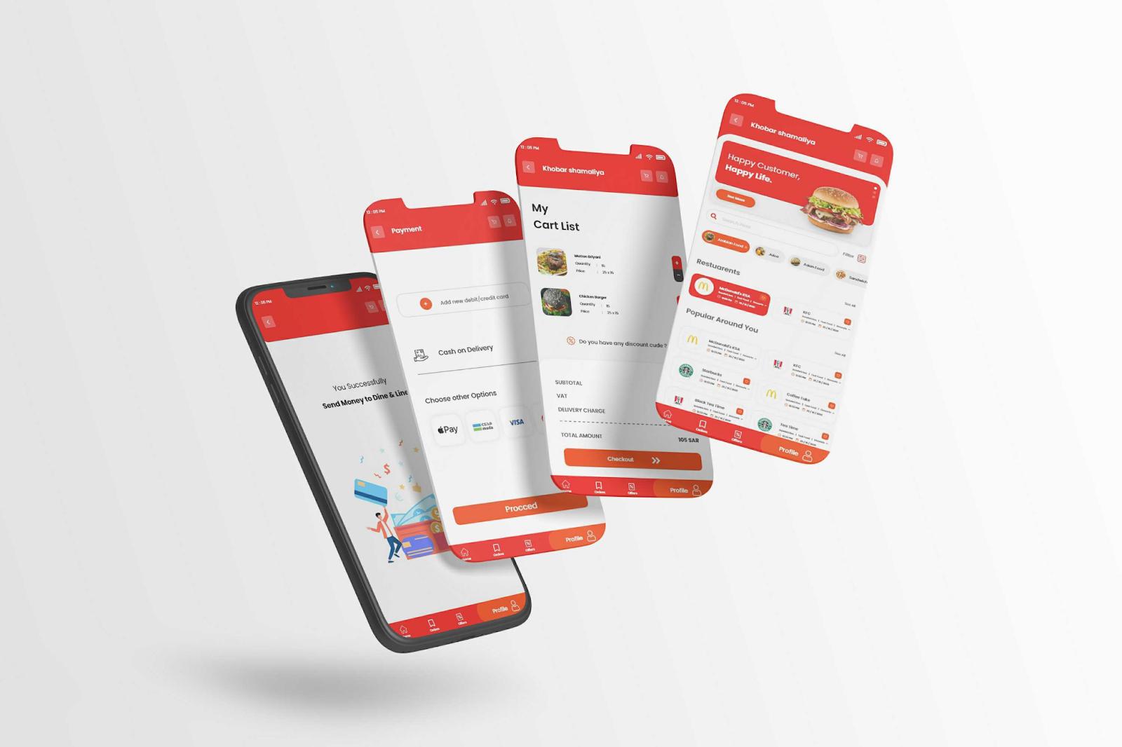 Line & Dine - Restaurant Booking App - YelloStack Mobile App Development Company in Saudi Arabia