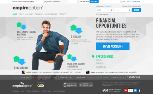 EmpireOption-image- Best Binary Options Platform