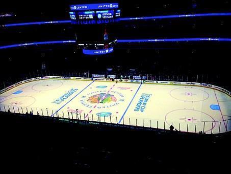 Blackhawks Chicago United Center