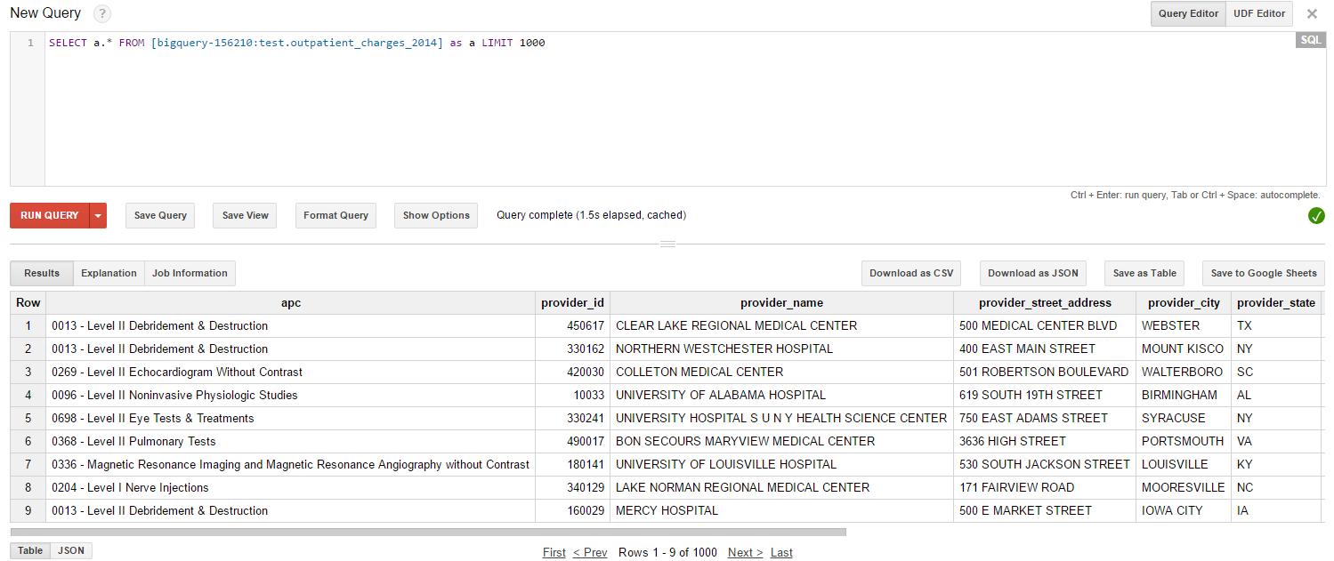 Integrating Google BigQuery with Denodo