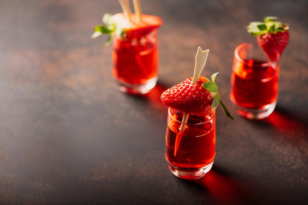 Strawberry Kamikaze, o altă rețetă delicioasă de shot