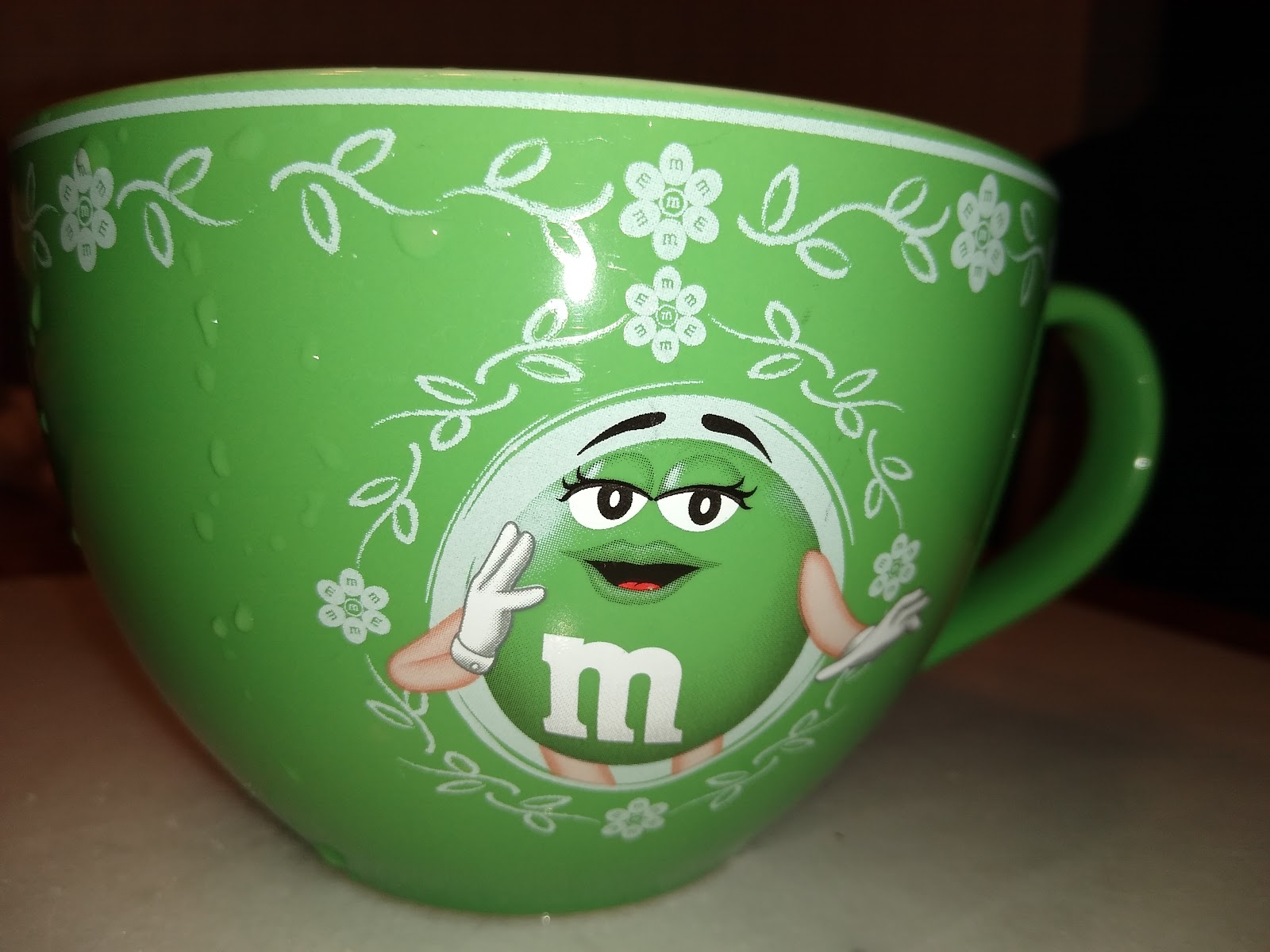 m&m coffee mug picture