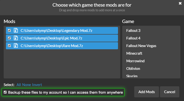 ModDrop FAQ