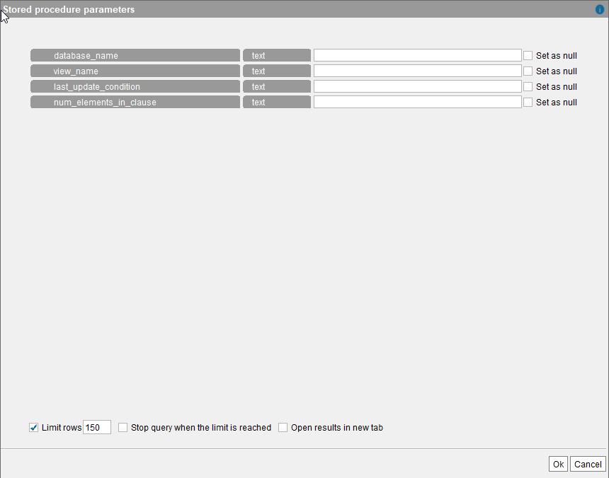 Denodo Incremental Cache Load Stored Procedure - User Manual