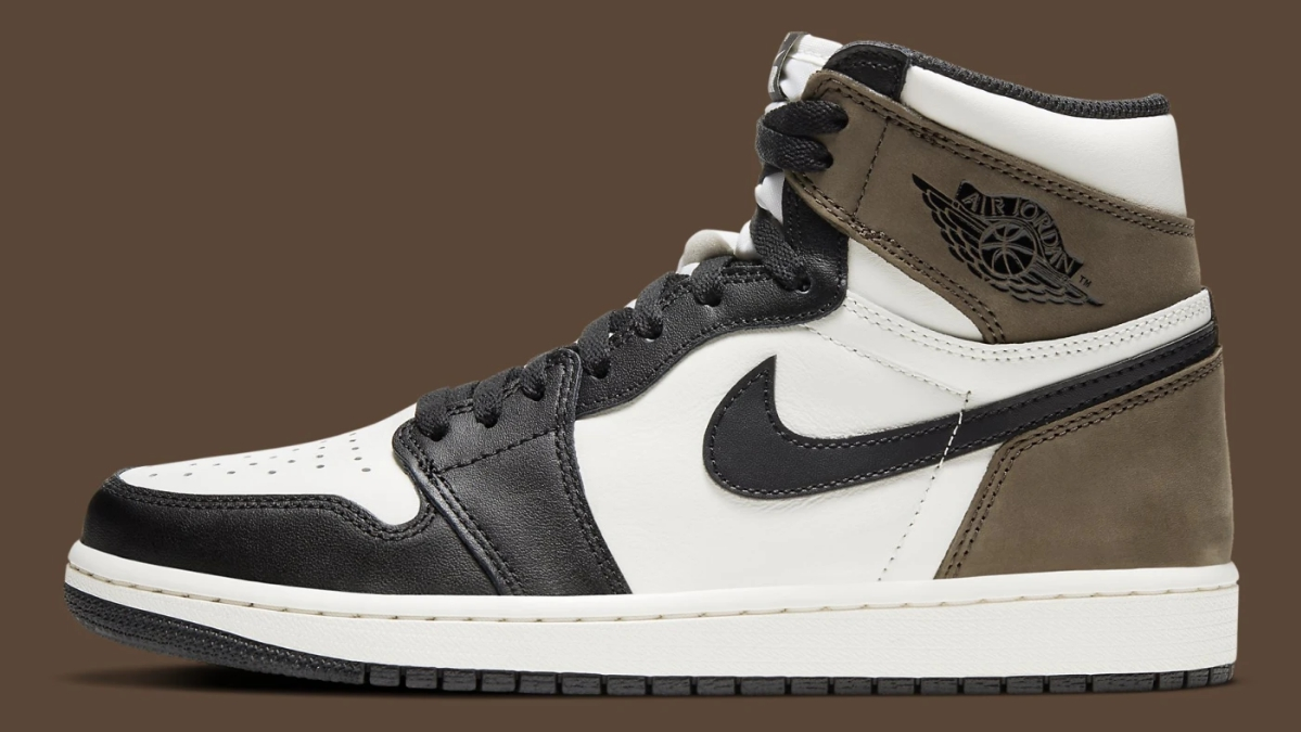 Air Jordan 1 Retro High OG 'Dark Mocha,' Style Code: 555088-105