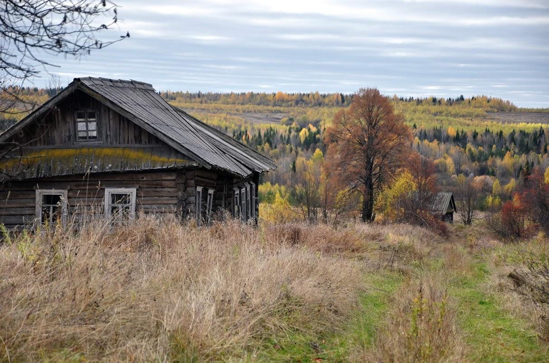 Заброшенные деревни и дома картинки