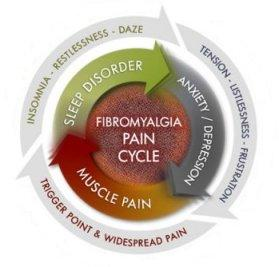 Fibromyalgia pain cycle