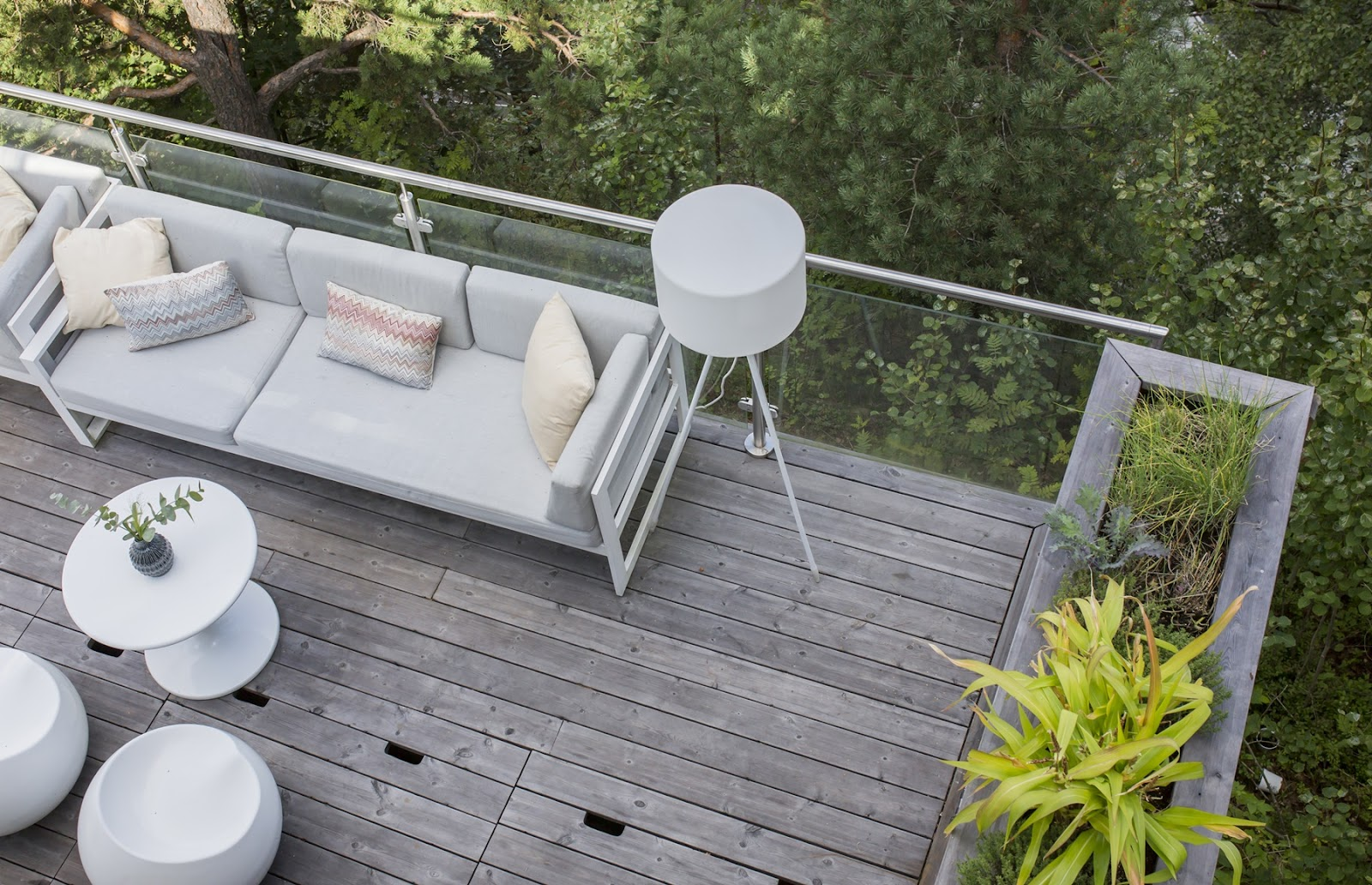 Terrassebord fra Kebony