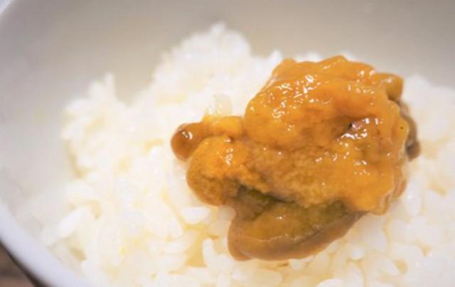 超濃厚!北海道産ムラサキウニで贅沢に夕食を!