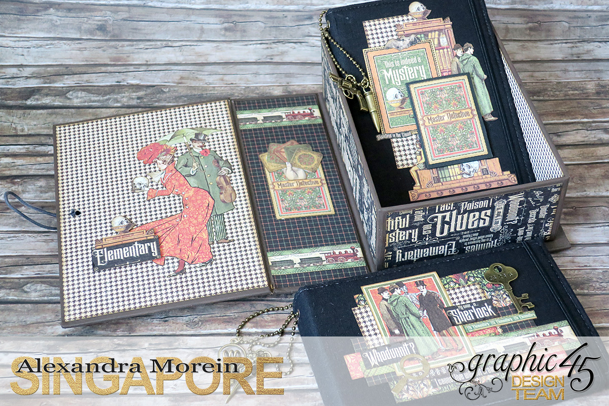 Master Detective Box and Albums, Project by Alexandra Morein, Product by Graphic 45, Photo 9.jpg