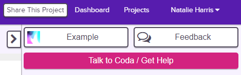 Hatch Coding's AI Help Bot - Coda