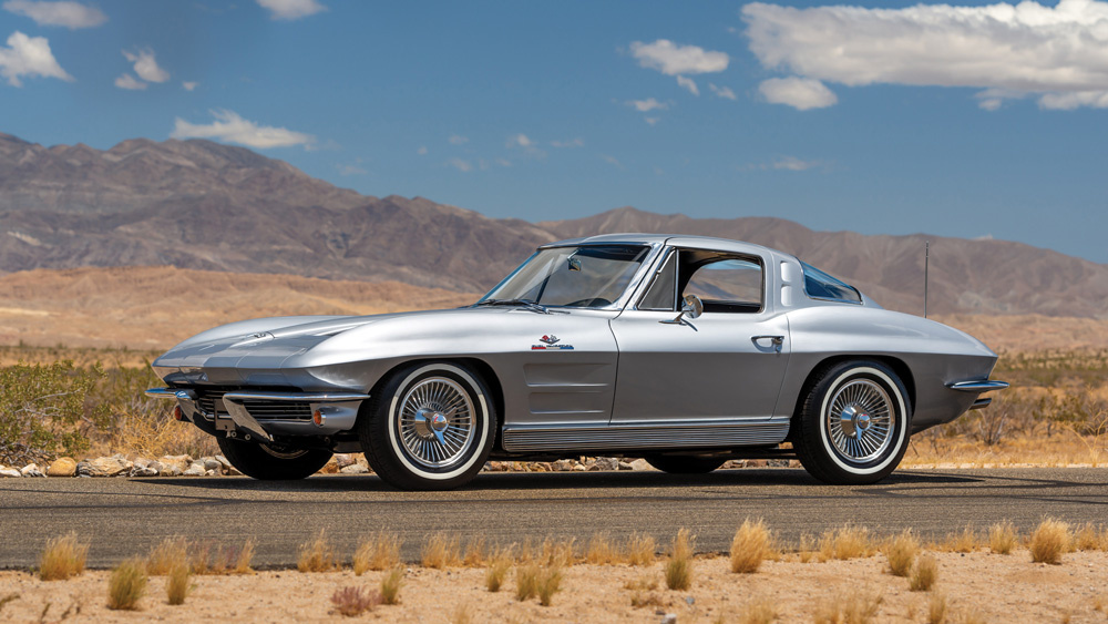 1963 Chevrolet Corvette Sting Ray Fuel-Injected Split-Window Coupe