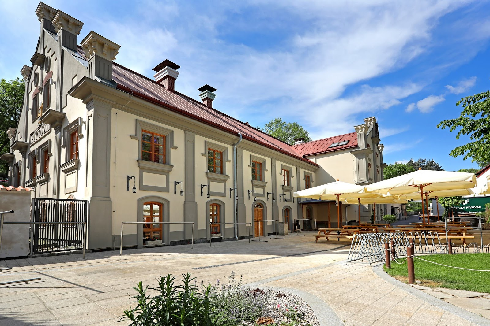 Unětice lies just beyond Suchdol and is an easy bike ride away from Prague