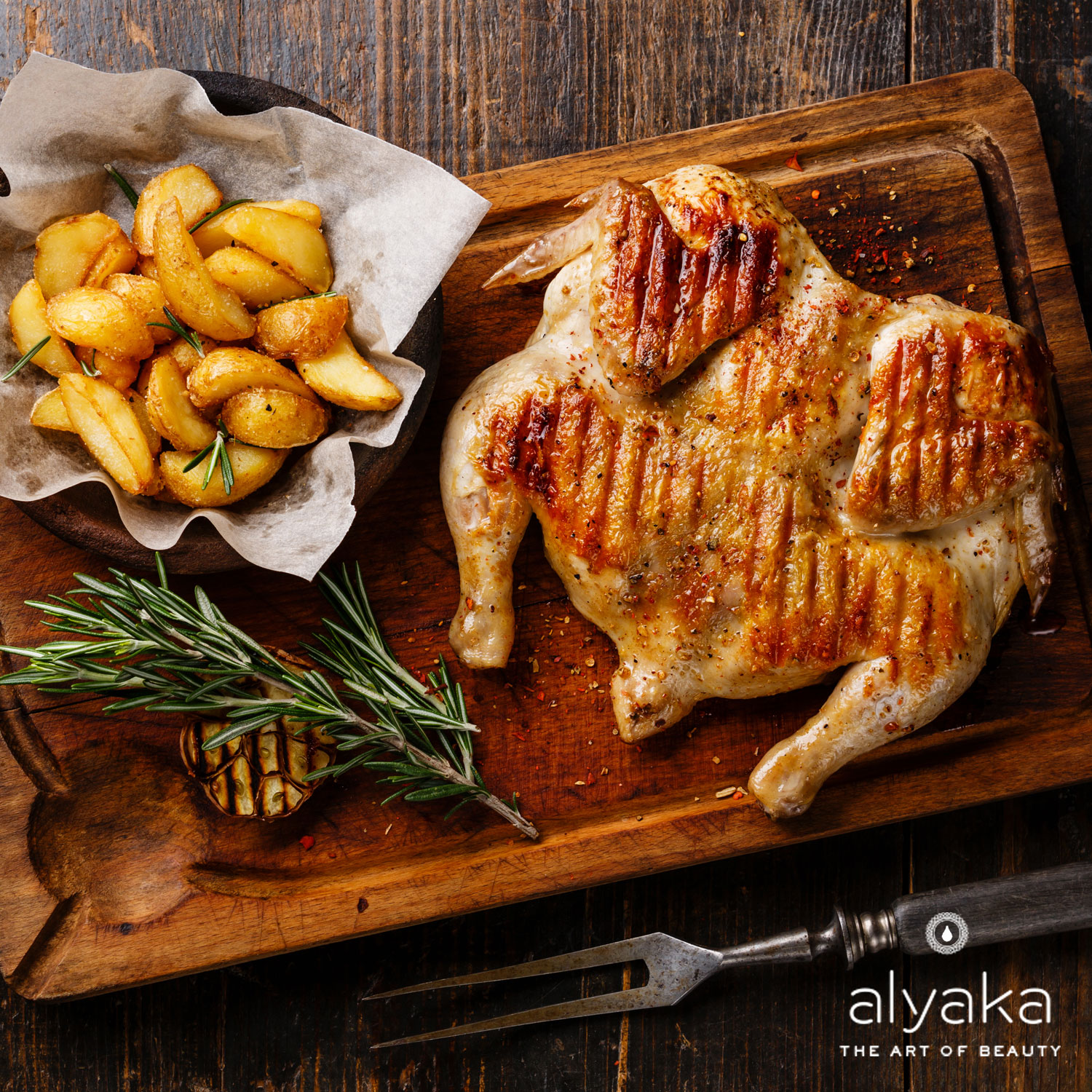 Low-Calorie meal : Roasted Chicken