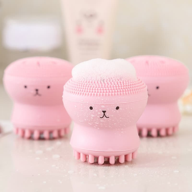 Face Cleaner Facial Exfoliator Blackhead Pores Deep Cleanser Brush