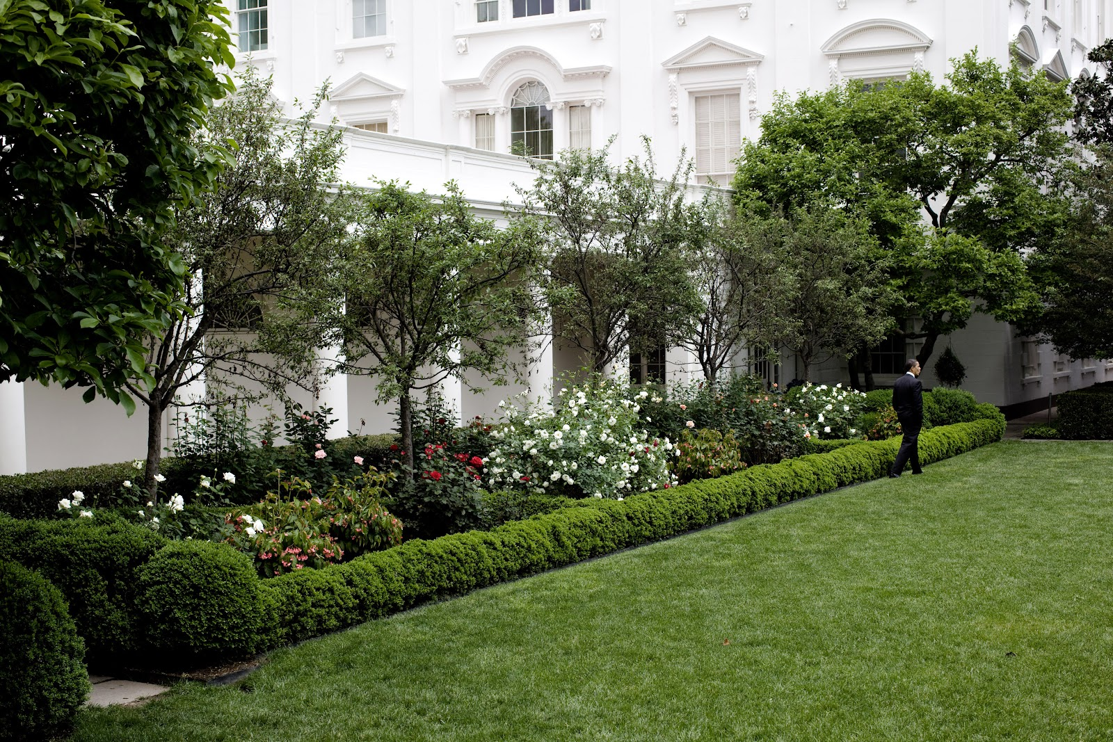 White House Rose Garden.