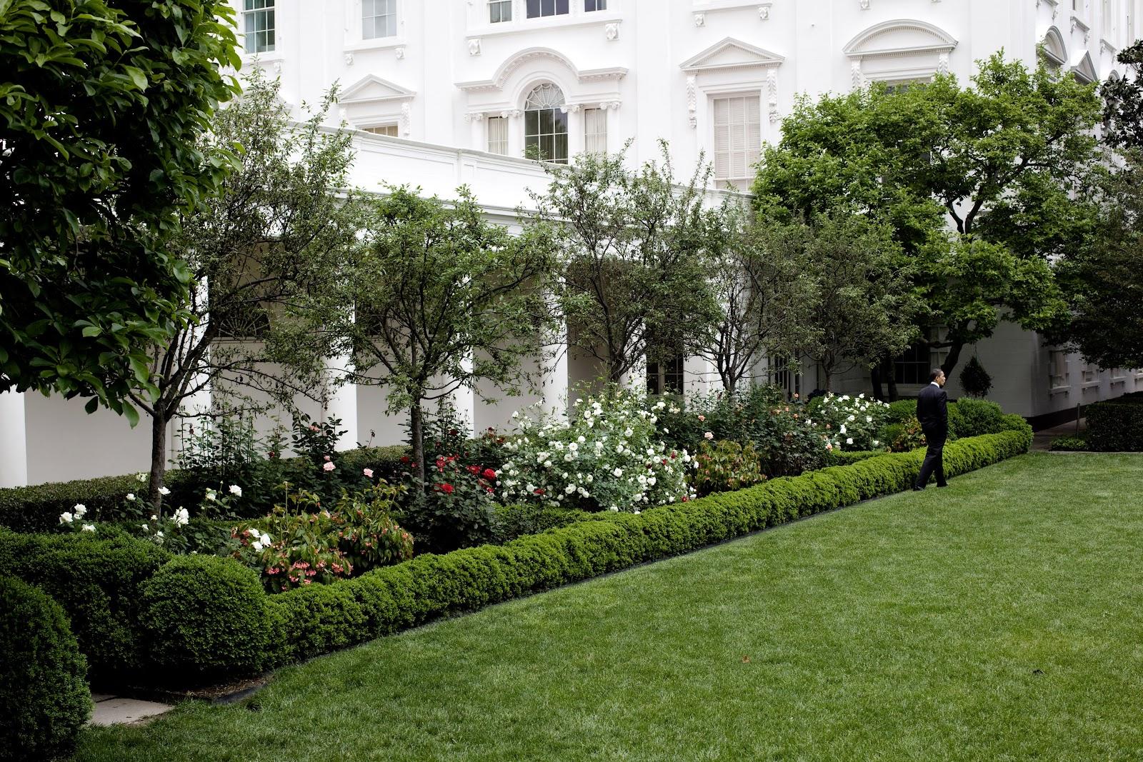 White House Rose Garden.