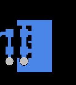 Capture d'écran - Remplissage polygonal terminé AD18 - Remplissage polygonal dans des zones de cuivre