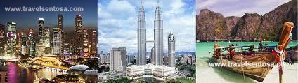 Wisata Tiga Negara Singapore Malaysia Thailand