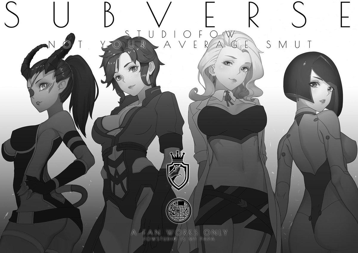 Горячий пятничный арт по Subverse — Деми, Кили и Лили