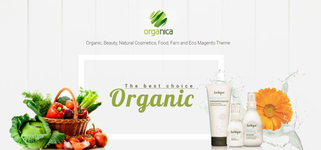 Organica-organic Magento themes