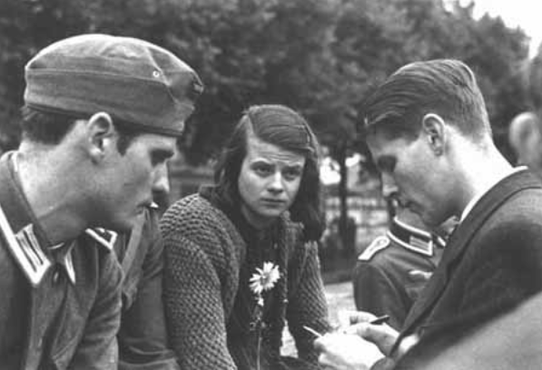 Sophie and Hans Scholl- White Rose Resistance Members