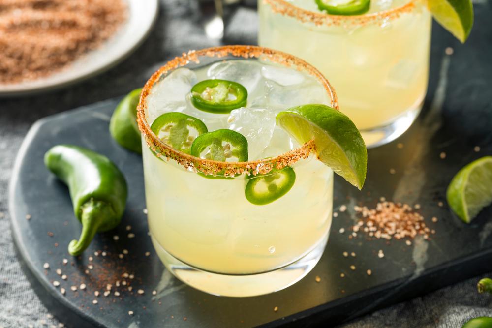 Tropical Cocktails for Summer - Jalapeno Margarita