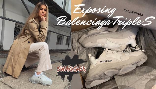 Giày Balenciaga phối màu rất ấn tượng