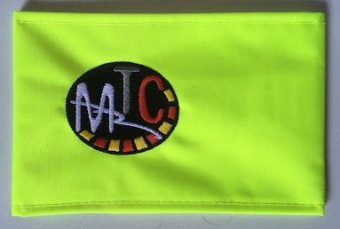 Braçalet reflectant MTC amb el logo bordat  Import -----> 5 €/ut.