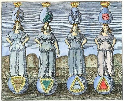 Risultati immagini per i quattro elementi