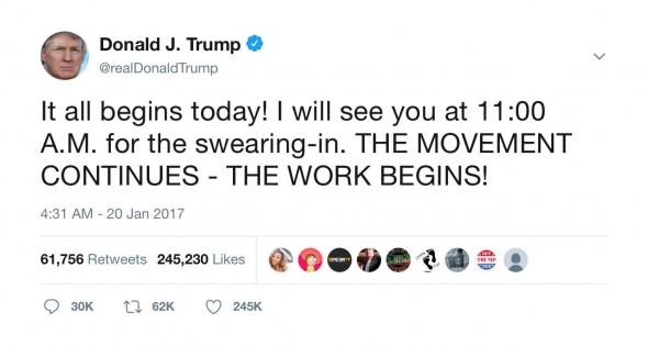 Анализ твиттера Трампа