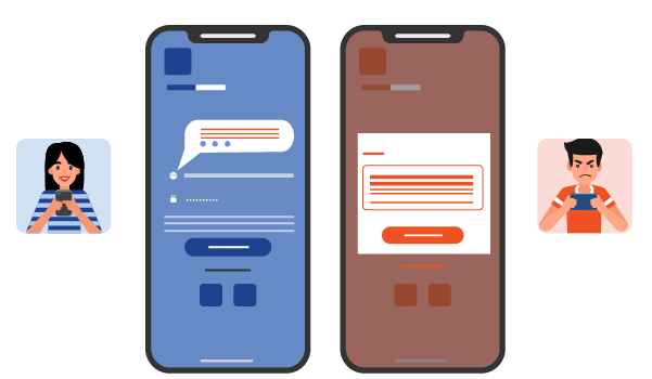 Difference between in-app messages and nudges