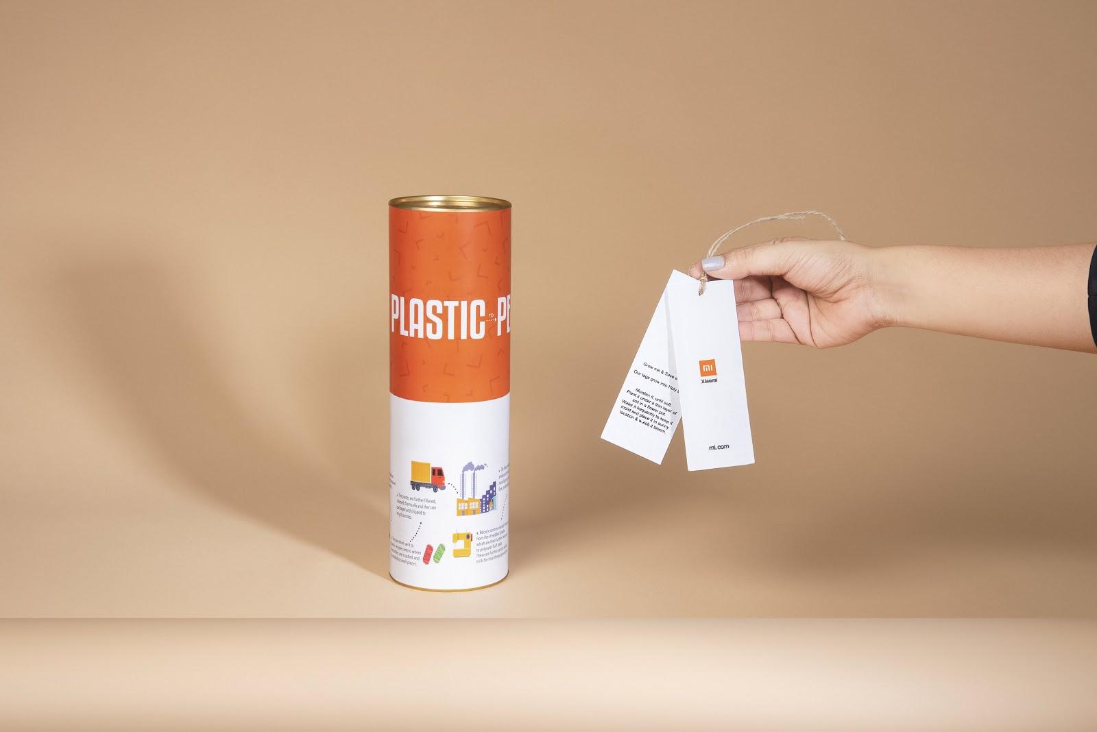 Xiaomi ra mắt áo phông làm từ nhựa, tặng kèm cả hạt giống cây trồng khi bán ra - Ảnh 3.