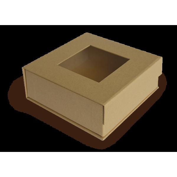Staples - Mixed Media 5x5 Box-Kraft