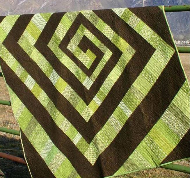 Helix Quilt - Pattern on Craftsy.com
