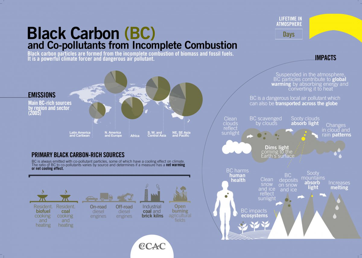Black Carbon from industries and other sources identified by Industrial dust monitor