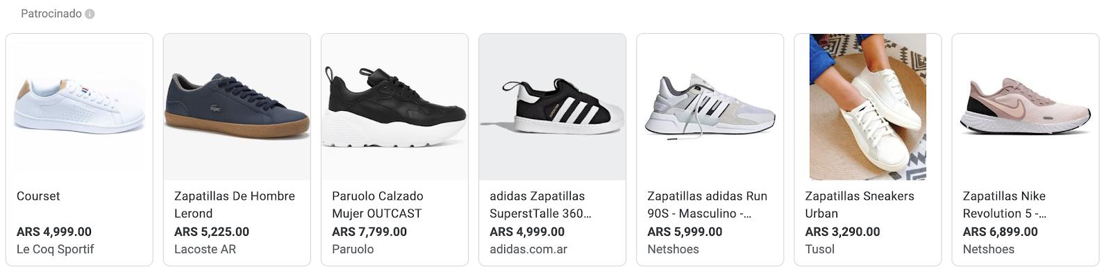 anuncios de google shopping