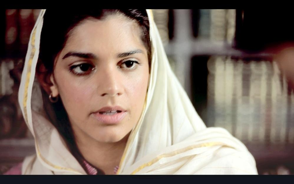 Image result for sad aangan drama scene