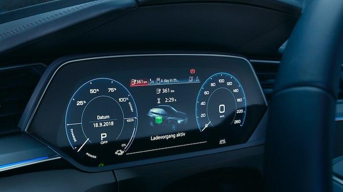 จอแสดงข้อมูลการขับขี่แบบ Virtual cockpit plus ขนาด 12.3 นิ้ว